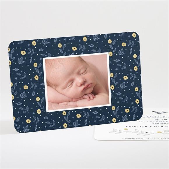 Geburtskarte Zitrusgrafie réf.N111231