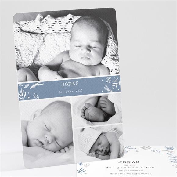 Geburtskarte Vier Photos réf.N241151