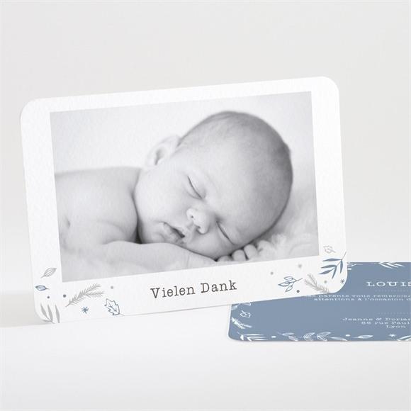 Danksagungskarte Geburt Vier Photos réf.N111232