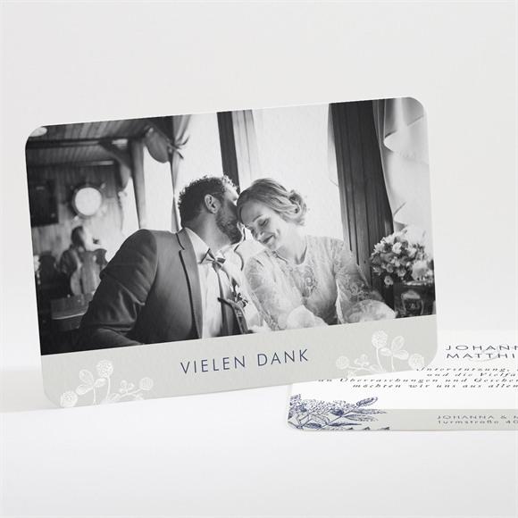 Danksagungskarte Hochzeit Blühender Zweig réf.N111234