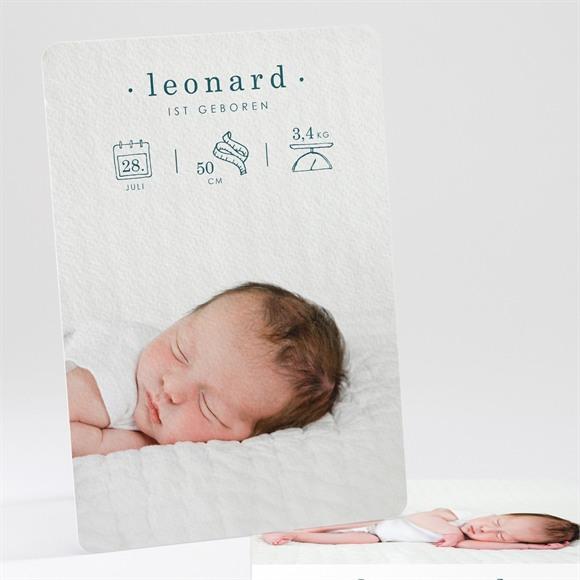 Geburtskarte Smaragd réf.N241153