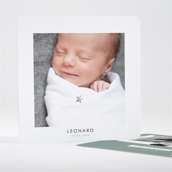 Geburtskarte Unterschrift réf.N35108
