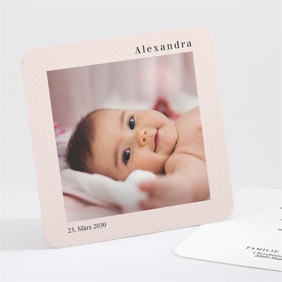 Geburtskarte Foto mit Rahmen réf.N301245