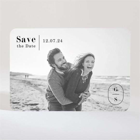 Save the Date Hochzeit Terrakotta réf.N11033