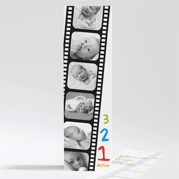 Geburtskarte Film ab! réf.N20107