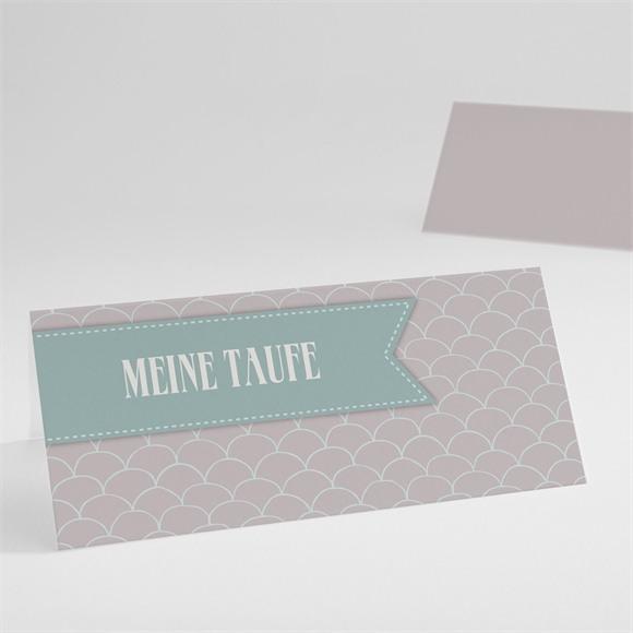 Tischkarte Taufe Taufbogen réf.N440405