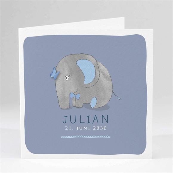 Geburtskarte Elefant réf.N45101