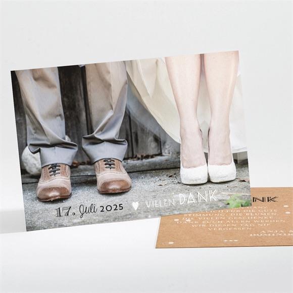 Danksagungskarte Hochzeit Kleines Origami réf.N11170