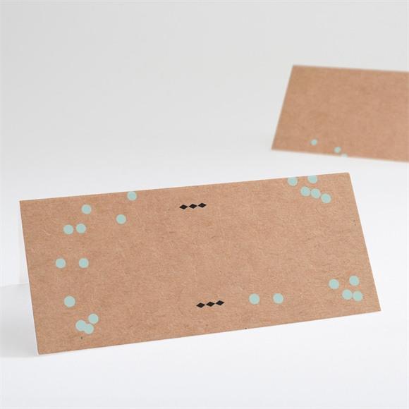Tischkarte Hochzeit Kleines Origami réf.N440427