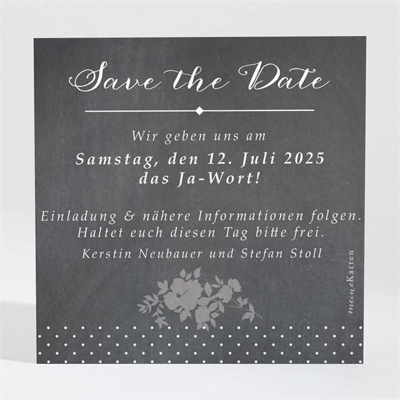 Save the Date Hochzeit Retro ausgefallen réf.N300686