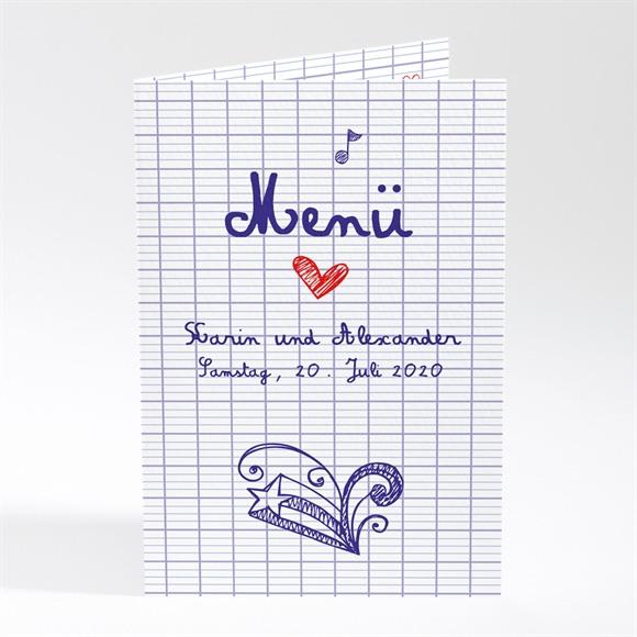 Menü Hochzeit Schreibschrift réf.N401559