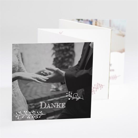 Danksagungskarte Hochzeit Fotostory réf.N80092