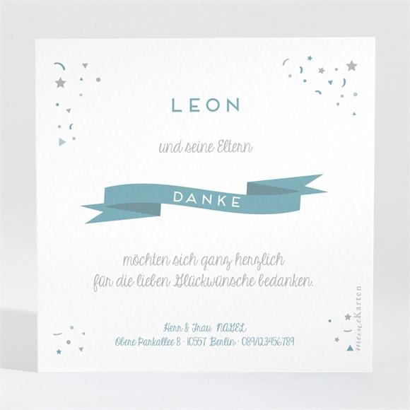 Danksagungskarte Geburt Eine kleine Überraschung réf.N3001073