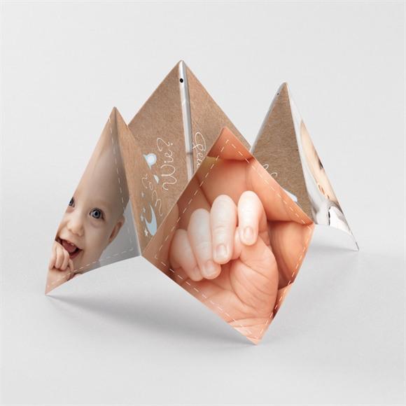 Geburtskarte Origami Freude réf.N33032