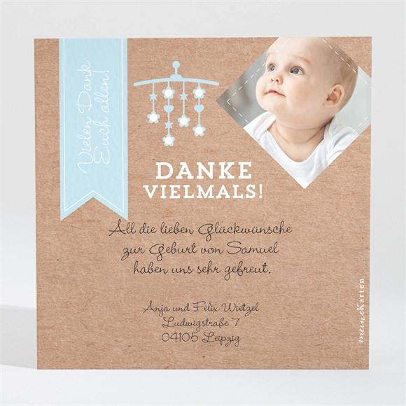 Danksagungskarte Geburt Origami Freude réf.N3001084