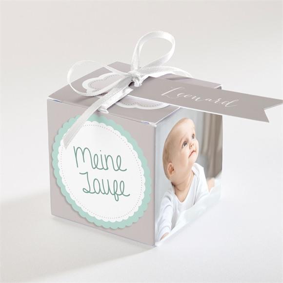 Zuckermandel Schachtel (Taufe) Mein Tag réf.N34017