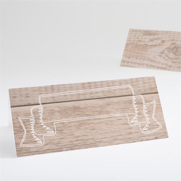 Tischkarte Taufe Wachsender Baum réf.N440584