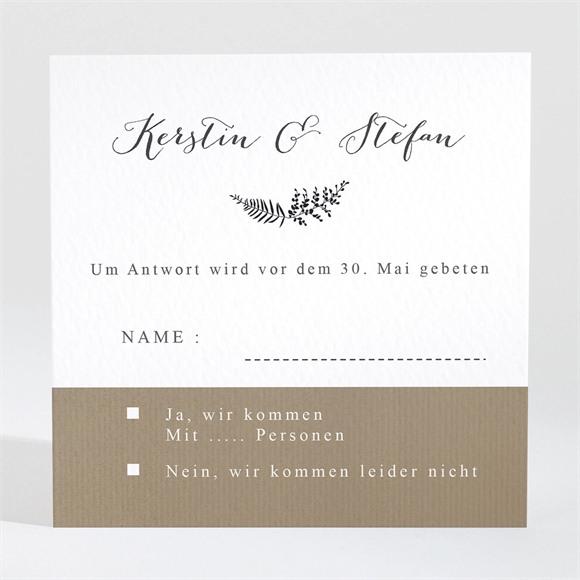 Antwortkarte Hochzeit Verknüpft réf.N3001298