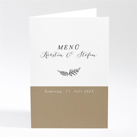 Menü Hochzeit Verknüpft réf.N401767