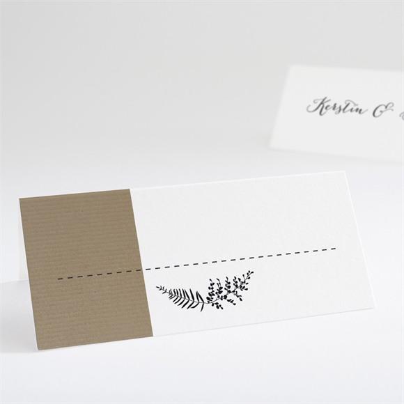 Tischkarte Hochzeit Verknüpft réf.N440626
