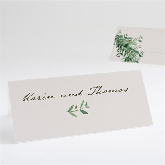Tischkarte Hochzeit Frühlingskranz réf.N440628