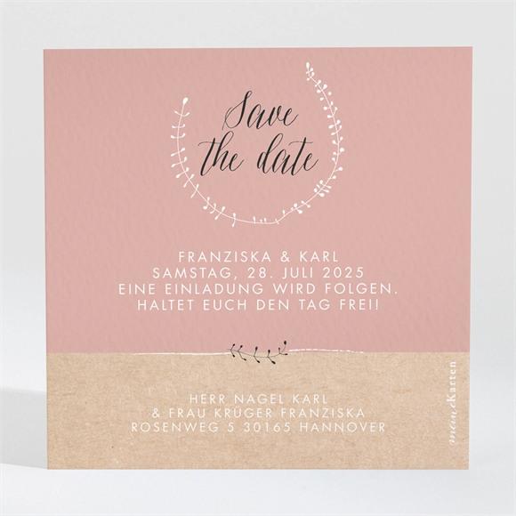 Save the Date Hochzeit Festlichkeit réf.N3001312