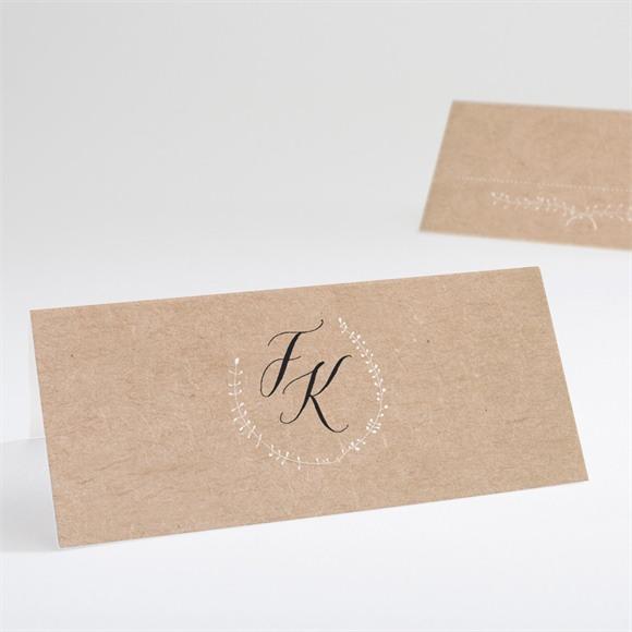 Tischkarte Hochzeit Festlichkeit réf.N440631