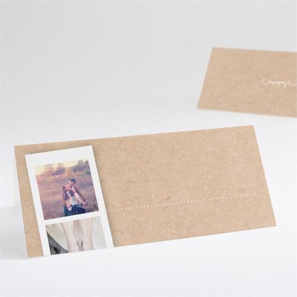 Tischkarte Hochzeit Unsere Story réf.N440634