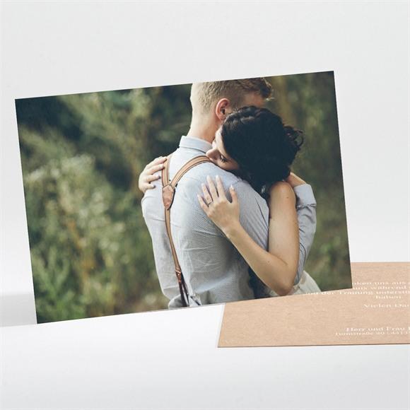Danksagungskarte Hochzeit Unsere Story réf.N111182