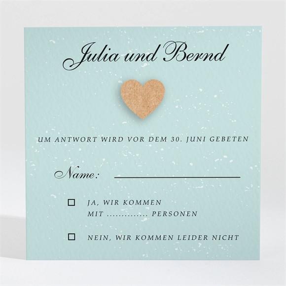Antwortkarte Hochzeit Fotoalbum réf.N3001332