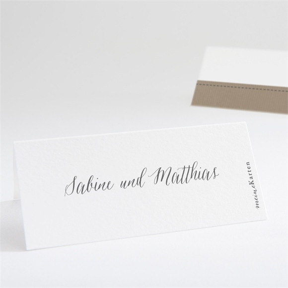 Tischkarte Hochzeit Natürlich verbunden réf.N440637