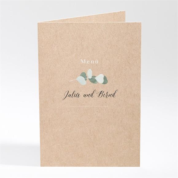 Menü Hochzeit Eukalyptus rustikal réf.N401782