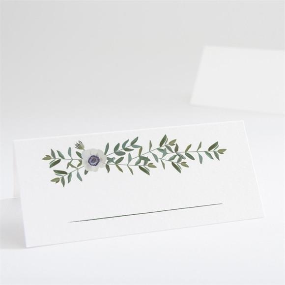 Tischkarte Hochzeit Zarte Blüte réf.N440642