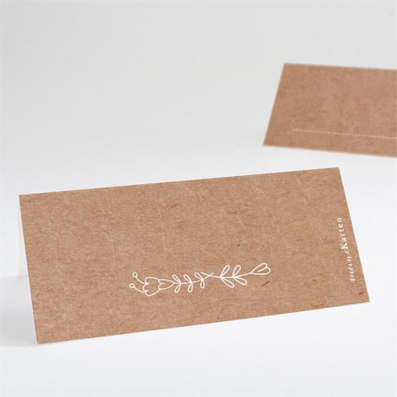 Tischkarte Hochzeit Vertrauen réf.N440647