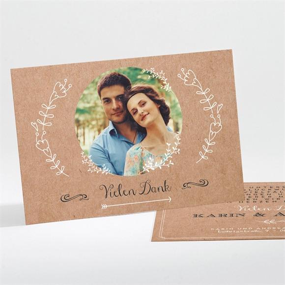 Danksagungskarte Hochzeit Vertrauen réf.N111192