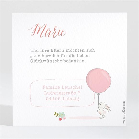 Danksagungskarte Geburt Willkommen réf.N3001368