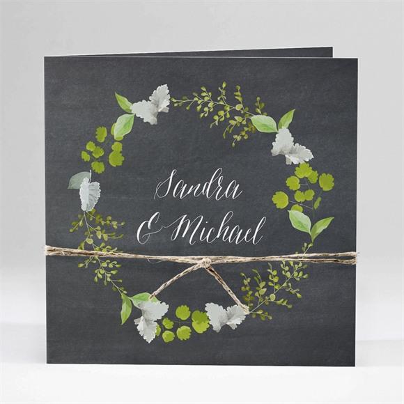Einladungskarte Hochzeit Frühlingstafel réf.N45177