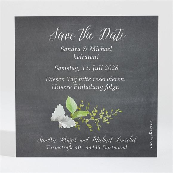 Save the Date Hochzeit Frühlingstafel réf.N3001386