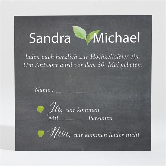 Antwortkarte Hochzeit Frühlingstafel réf.N3001387