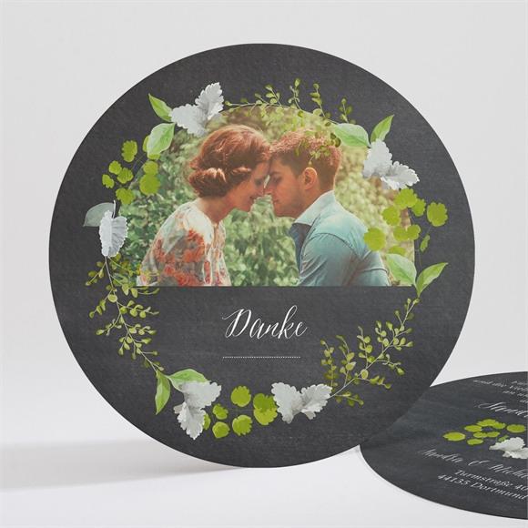Danksagungskarte Hochzeit Frühlingstafel réf.N321117