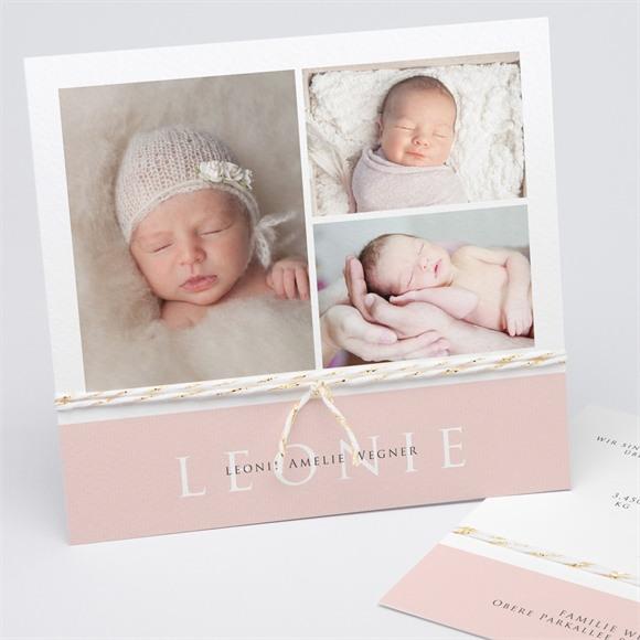 Geburtskarte Zartheit réf.N311202