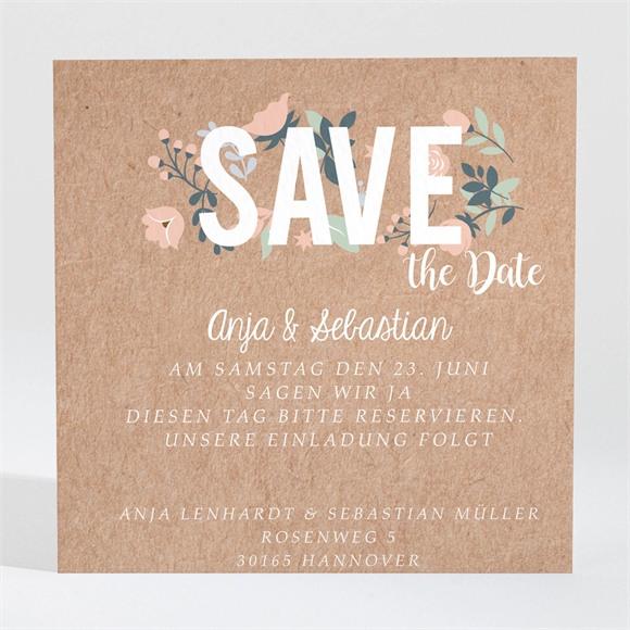 Save the Date Hochzeit Scheunenhochzeit réf.N3001407