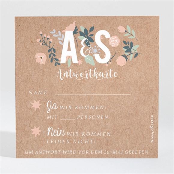Antwortkarte Hochzeit Scheunenhochzeit réf.N3001408