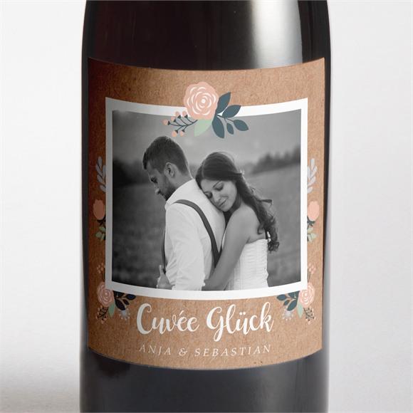 Flaschenetikett Hochzeit Scheunenhochzeit réf.N3001409