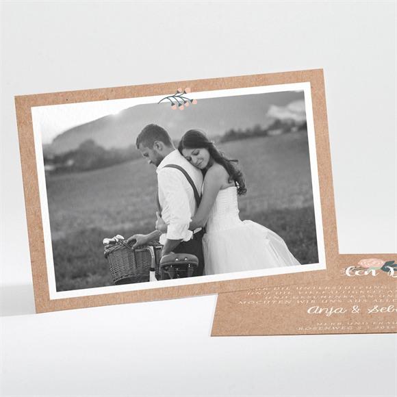 Danksagungskarte Hochzeit Scheunenhochzeit réf.N111195