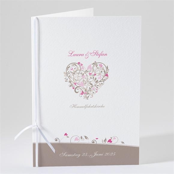 Kirchenheft Hochzeit Herzschlag réf.N49105