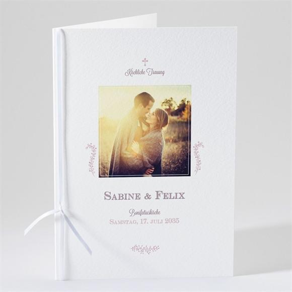 Kirchenheft Hochzeit Fotostory réf.N49108