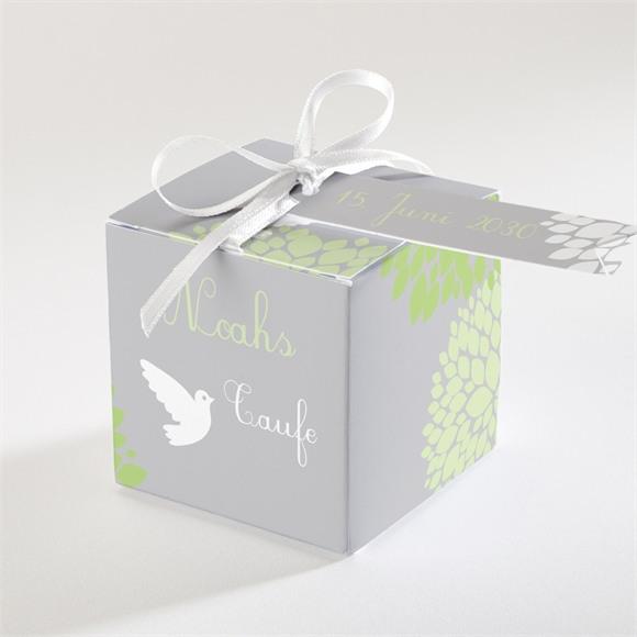 Zuckermandel Schachtel (Taufe) Fliegende Tauben réf.N340121