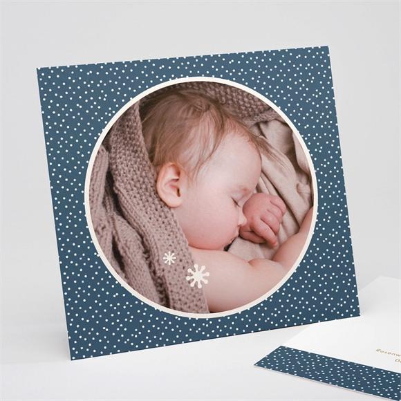 Danksagungskarte Geburt Getupft réf.N311211