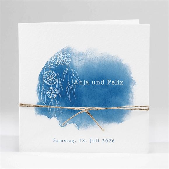 Einladungskarte Hochzeit Dreamcatcher réf.N45191